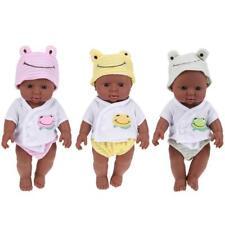 LIFELIKE Newborn Black/Brown BABY DOLL Christening/Birthday/GIFT - UK SELLER