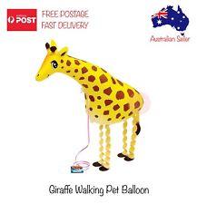 Giraffe Inflatable Foil Walking Balloon Helium Kids Birthday Party