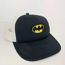Batman Snapback Hat Trucker Black/White DC Comics Superheros Cap