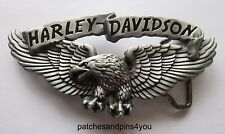 Harley Davidson Scroll / Eagle 97717-08VM Belt Buckle. New!