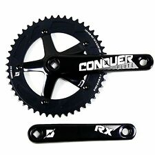 Conquer Crank-Conquer Elite Rx 48T Tapered Square 165mm 144 Bcd