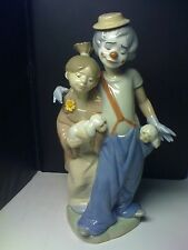LLADRO PALS  FOR EVER-SOCIATY-1 YEAR ISSUE 0NLY #7686- EXCELLENT