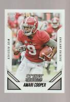 2015 Score #408 Amari Cooper rookie card, Dallas Cowboys