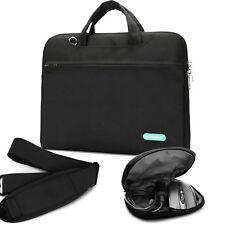 "Laptop Slim Bag for 14"" 15.4"" Lenovo Dell Toshiba HP ASUS Acer Chromebook -Black"