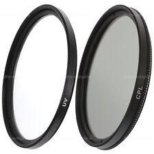 62mm UV Filter & CPL Filter Polfilter Zirkular Einschraubanschluss