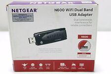 NETGEAR N600 WI-FI DUAL BAND USB ADAPTER  WNDA3100V2   {2469 SA-3}