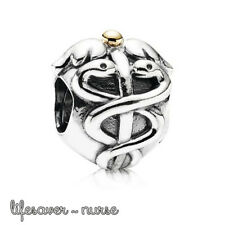 Pandora Genuine ALE 925 Silver Nurse Lifesaver Charm 791042 retired