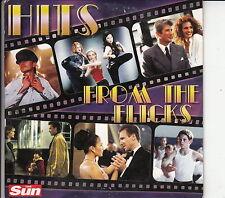 HITS FROM THE FLICKS - CD 10 TRACKS (Card Sleeve) VAN MORRISON, ROY ORBISON