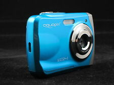 aquapix 16MP max underwater digital camera, Waterproof, lomo effect, blue