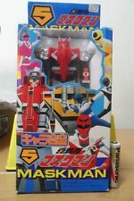 Vintage Japan 1987 Power Ranger Rangers Super Sentai Robot Megazord Maskman No 1