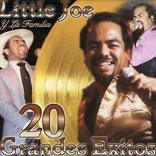 20 Grandes Exitos by Little Joe y la Familia (CD, Freddie Records)
