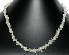 NATURAL PIEDRA DE LA LUNA Cadena minerales (45 cm,NATURAL,PINZAS