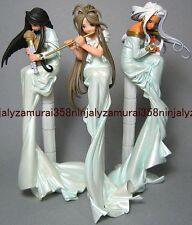 Ah My Goddess mini figure set of 3 Belldandy Urd Skuld Terzetto ver promo anime