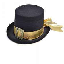 Adult Victorian Top Hat Riding Steampunk Elegant Fancy Dress Costume Accessory