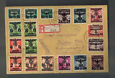 1940 GG General Government Rzeszow Germany Poland Cover