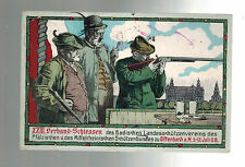 1908 Offenbach Germany Military Postcard to Russia Returned