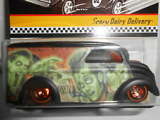 Hot Wheels Halloween Exclusive Limited Edition Scary Dairy w/ Redline RRs