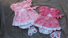 Cotton Blend Checked Clothing (0-24 Months) for Girls