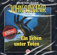 JOHN SINCLAIR - Teil 83 - Ein Leben unter Toten - AUDIO CD - NEU OVP