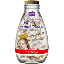 PUREDERM Skin Brightening Mask 15ml Vitamin E & Natural Pearl Rejuvenate
