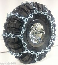 2 Silver Snow Chains Fit AX12015 Axial Ripsaw 2.2 Tires. Wraith, AX10, Crawler