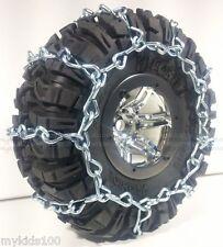 2 Silver Snow Chains Fit AX12015 Axial Ripsaw 2.2 Tires. Wraith, AX10, Crawler