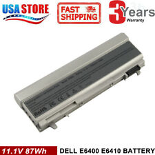 6/9 Cell Battery For Dell Latitude E6400 E6410 E6500 E6510 PT434 Laptop