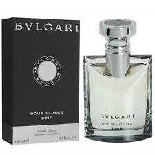 PROFUMO UOMO BULGARI BVLGARI POUR HOMME SOIR 100 ML EDT 100ML 3,4 OZ DE TOILETTE