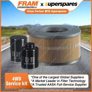 Fram 4WD Filter Service Kit for Toyota Hilux LN167R LN172R LN147R 5L 3.0L