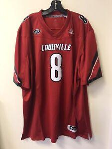 Adidas Louisville Cardinals Lamar Jackson Premiere Football Jersey Size 3XL 1250