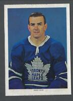 1963-65 Chex Toronto Maple Leafs Hockey Photos #30 Dave Keon
