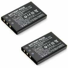 2x Battery for DXG DXG-581V HD DXG-589V DVH-582 DVH-598 DVV-581 DVV-891 DVX-5F9