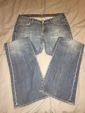 7 For All Mankind Women's Jeans Bootcut Size 30 Medium Wash