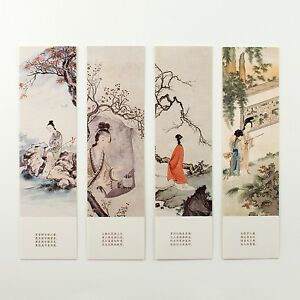 Pack of 30 bookmarks of Chinese ladies princesses concubines #B0012