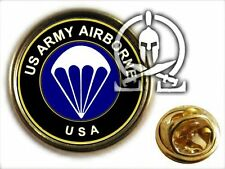 ..: Pin's :.. US PARATROOPER - bleu infanterie - INFANTRY 101 AB 82 AB normandy