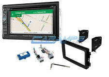 "NEW 6.2"" POWER ACOUSTIK STEREO GPS NAVIGATION BLUETOOTH AUX/USB WITH INSTALL KIT"