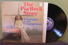 """Pia Beck """"The Pia Beck Story"""" LP 6423 398 Netherlands"""