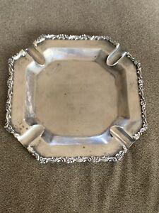 Platerias Ecautorianas Sterling silver Ashtray 7.5 Oz Engraved