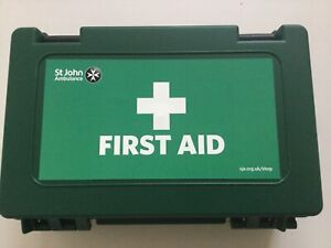 First Aid Kit 10 Factory Wall Mounted Case -Long Expiry