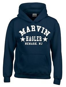 Marvin Hagler Boxing Gym Training Mens Hoodie