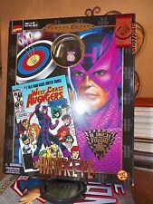 "Toy Biz Marvel Famous Cover HAWKEYE 8"" Retro Figure New in Box NIB"