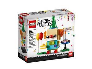NEW  LEGO 40348 BrickHeadz Birthday Clown - 150 pieces