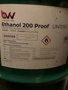 Ethanol Non-Denatured Alcohol 200 Proof Food Grade (100%) 1 Gallon