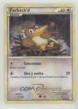 2010 Pokémon HeartGold & SoulSilver Base Set Spanish #19 Farfetch'd Card 2f4