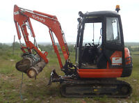 Hydraulic digger excavator log  landscaping grapple thumb grab 2.7t -4 ton