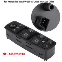 Electric Power Master Window Switch for Mercedes A/B-Class W245 W169 1698206710