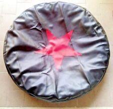 Copriruota di scorta  Spare wheel cover, Red star (symbol) Dnepr Ural