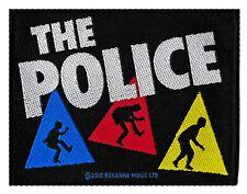 The Police patche officiel écusson licence patch à coudre