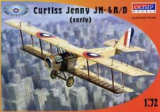 Avion US. CURTISS JENNY JN-4A/D, 1916 - Kit OLIMP MODELS 1/72 n° 72001