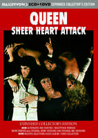 QUEEN SHEER HEART ATTACK =EXPANDED COLLECTOR'S EDITION= PRESS 2CD+1DVD *F/S
